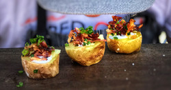 Roasted Potato and Speck