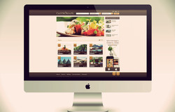 Gastromaps /responsive web design/