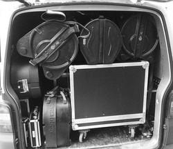 #backline #drums #yamaha #ampeg #fender
