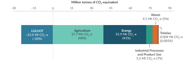 Diagram of New Zealand Carbon Emissions
