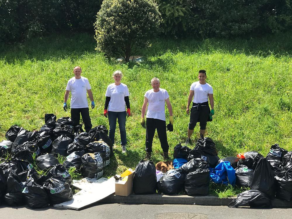 Energy TS Volunteer Clean Up 2018