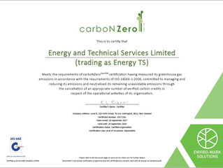 Towards Zero Carbon...