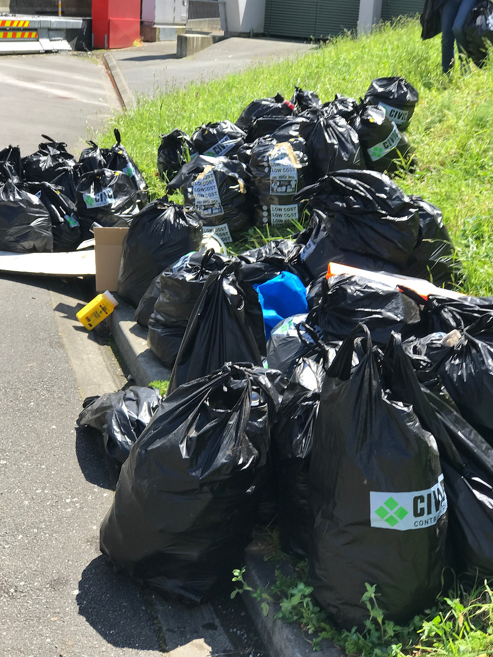 Collected Rubbish | Energy TS Clean Up