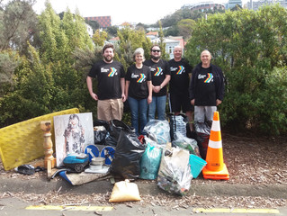 KNZB Clean-Up Week - our clean-up