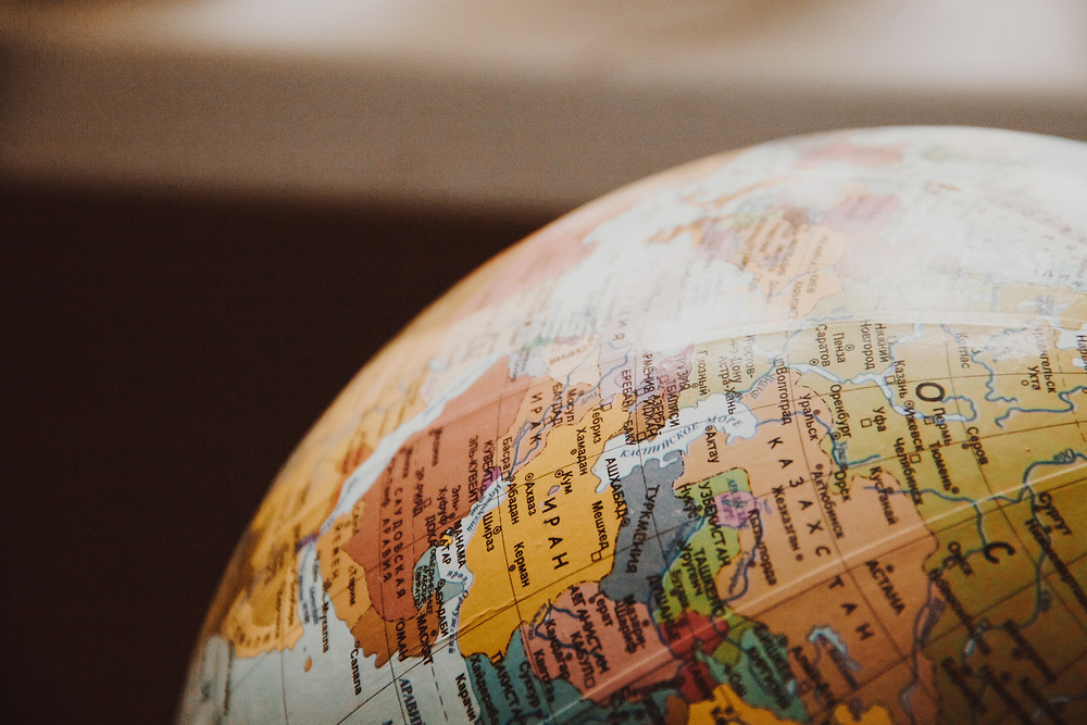Globe of World