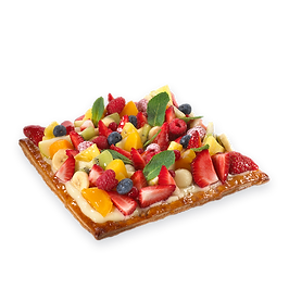 Fruta variada - Pastel Baixas