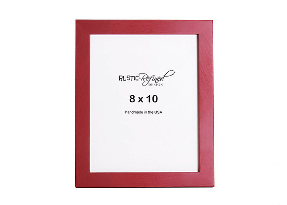 """8x10 1"""" Gallery Picture Frame - Barn Red"""