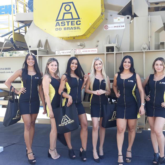 Exposibram - Stand Astec do Brasil
