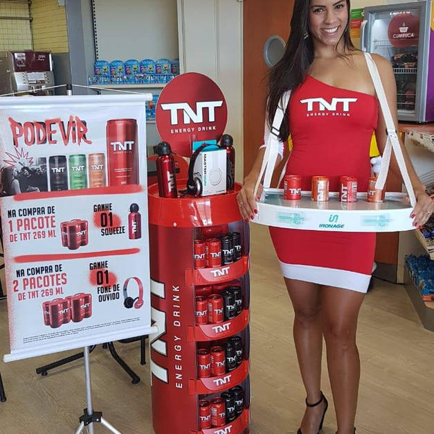 Ação Degustação TNT