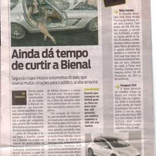 Jornal - Matéria Mercedes Bienal