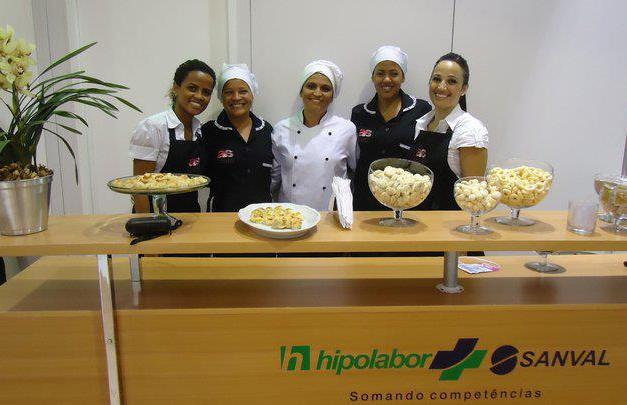 Buffet Feira Abradilan - Stand Hipolabor