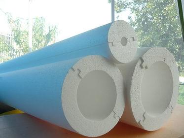 Производство скорлупы для труб из пенопласта