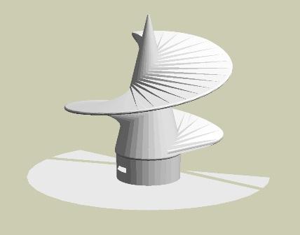 Расчет 3D модели