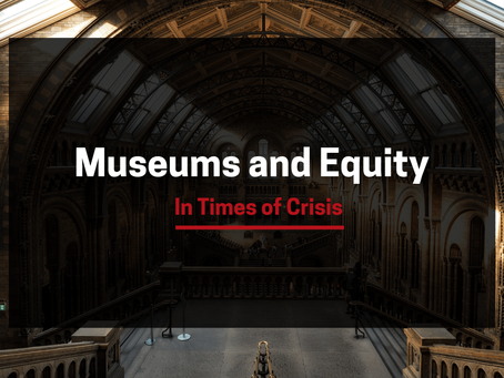 Museer og egenkapital i krisetider