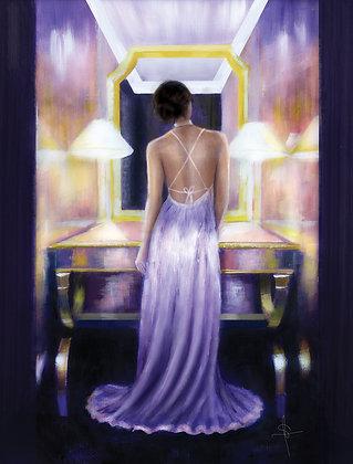 'Violet Rose' A1 Print