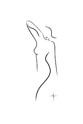 'Lina' A1 Print