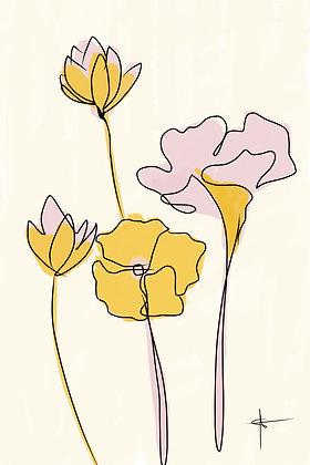 'Flowers' 20x30 Print