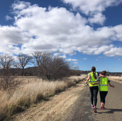 Running together, 2019