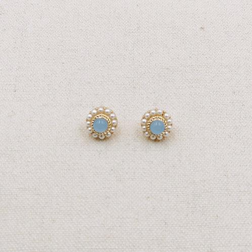 Pearl Stone Earrings