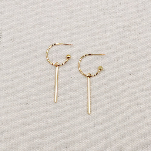 Hoop Stick Earrings