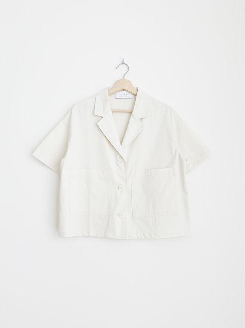 Cropped Short Sleeves Jacket