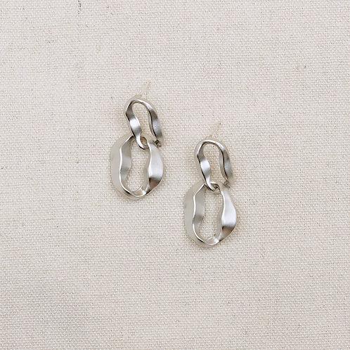 Matte Interloop Earrings