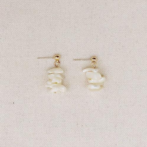 Stacked Stones Earrings