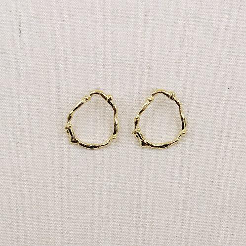 Irregular Molten Earrings