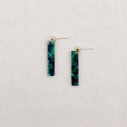 Resin Stick Earrings