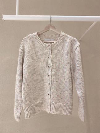 Soft Colour Button Down Cardigan