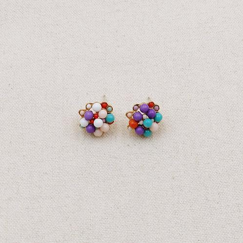 Colour Ball Earrings
