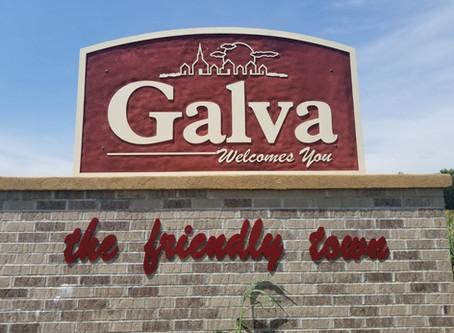 Galva in Ida County bills itself as 'the friendly town'