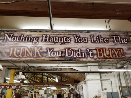 Do not be haunted by the junk you failed to buy at Relics Midwest in Marshalltown
