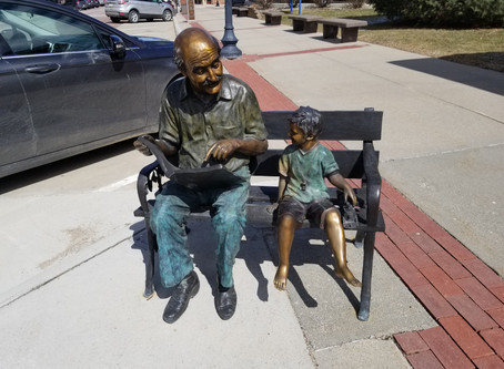 An array of artwork adds to the allure of historic downtown Manning