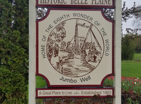 Belle Plaine's 'Jumbo Well' was once considered the 'Eighth Wonder of the World'