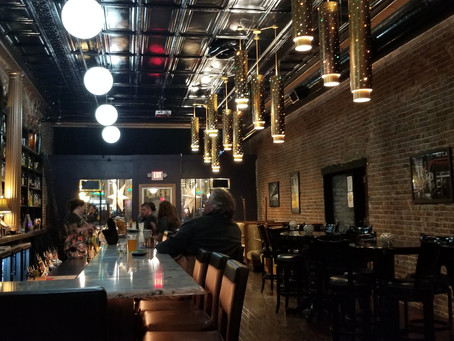 Atlantic and Pacific (A & P) Pub is a swanky social hangout on the square in Knoxville