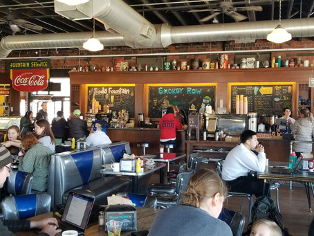 Serving up great coffee, Smokey Row in Des Moines is a place to see and be seen