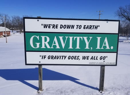 Do not defy Gravity, it is home to a lot of down to Earth people in Taylor County
