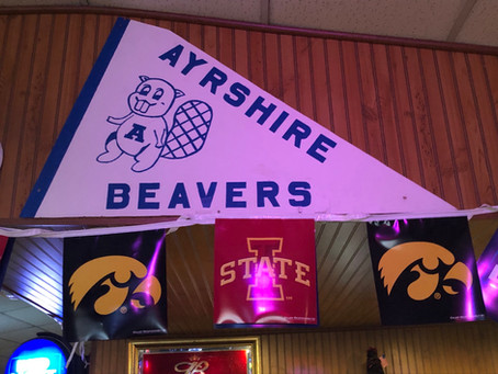 Established in 1882, Ayrshire in Palo Alto County is the home of the Beavers