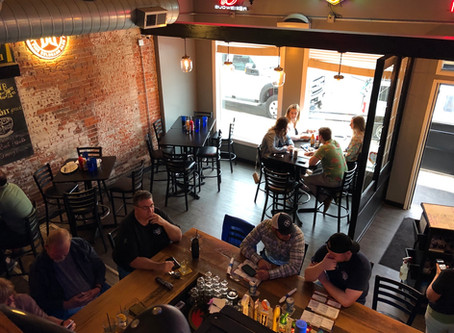 Sippis in Davenport, with its multiple levels, is a spot to celebrate any milestone