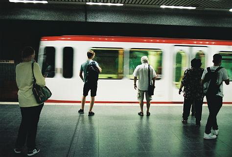 Dortmunder Ubahn mit Kodak Gold, analog Streetfotografie