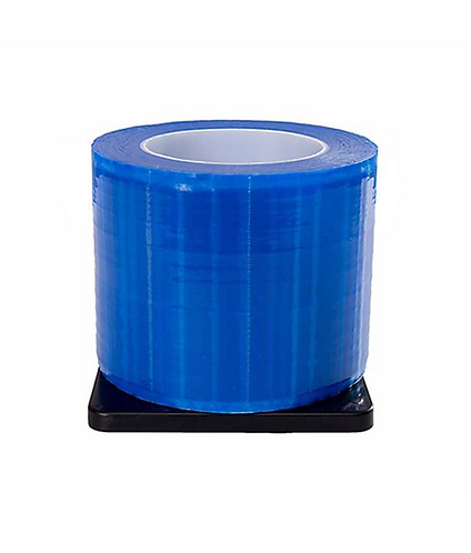 """BARRIER FILM, BLUE, 1 ROLL OF 1200 SHEETS, 4"""" x 6"""""""