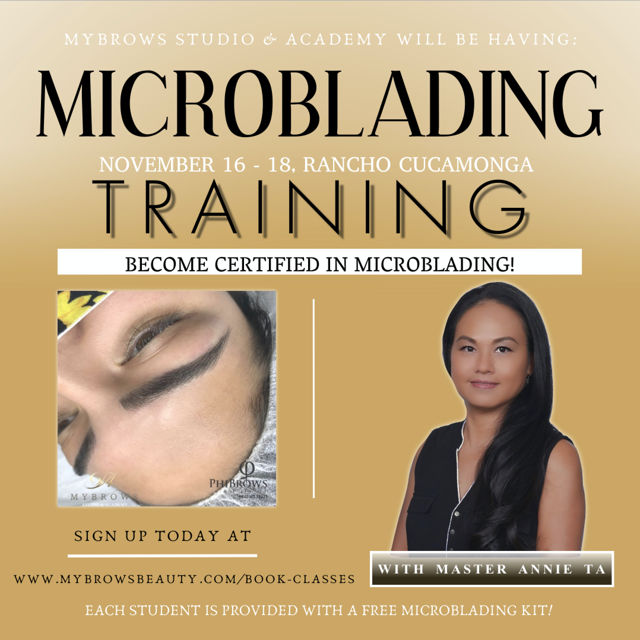 3 DAY MICROBLADING TRAINING COURSE