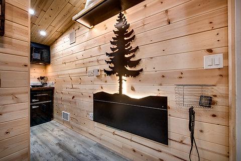 Custom Tree Light & Table