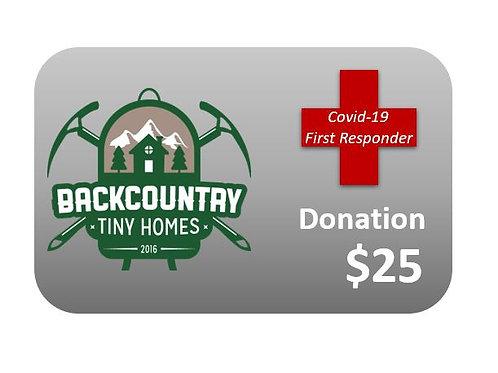 $25 First Responder Donation