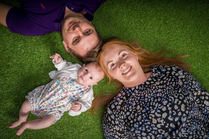 Green Grass Floor