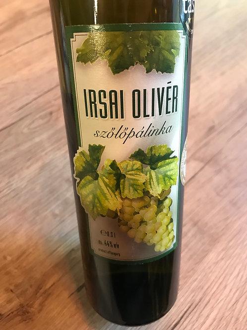 Szicsek Irsai Olivér szőlőpálinka 0,5 l