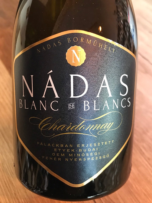 Nádas Borműhely Blanc de Blance Chardonnay Nyerspezsgő