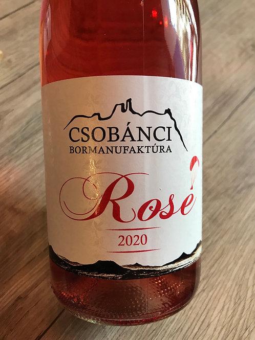 Csobánci Bormanufaktúra Kékfrankos-Pinot Noir Rosé 2020