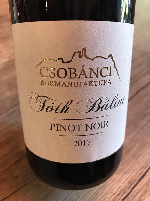 Csobánci Bormanufaktúra Pinot Noir 2017